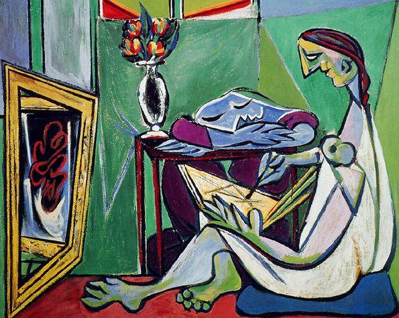 La muse - Picasso