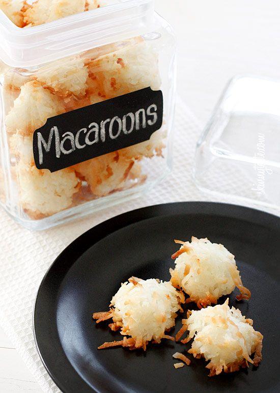Coconut Macaroons   Skinnytaste