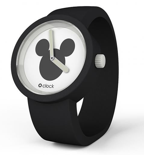 Black Mickey Mouse Icon Disney Watch - £36.94