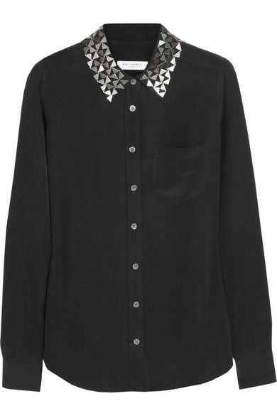 THIS SHIRT IS SOLD OUT BUT THE IDEA OF THIS SHIRT - A DECORATED COLLAR - WOULD BE GREAT FOR AUDITIONS