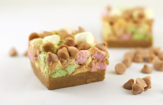 These butterscotch marshmallow squares have been a part of our holiday spread forever-they are my favourite!