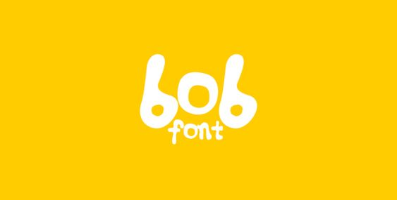 Bob, created by Burma-based typographer Zarni #freefonts