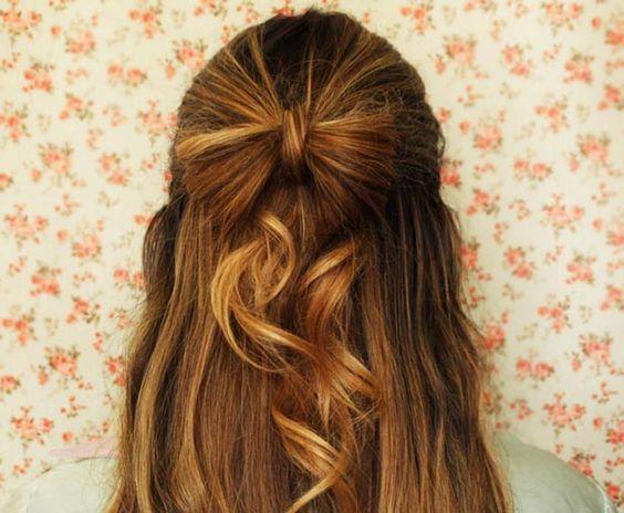 Pausa para Feminices » Blog Archive Tutorial - penteado com laço » Pausa para Feminices