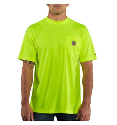 Carhartt - Product - Men's Force™ Color Enhanced Short-Sleeve T-Shirt