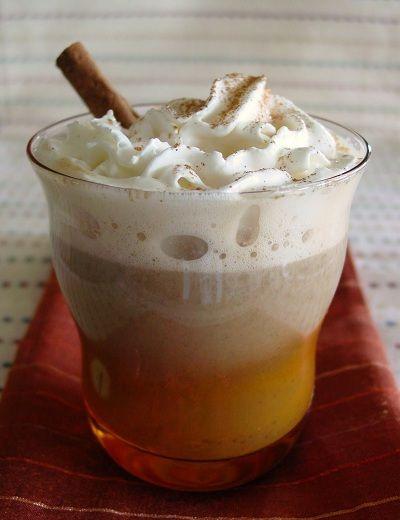 Pumpkin Spice Latte Recipe (1pp)