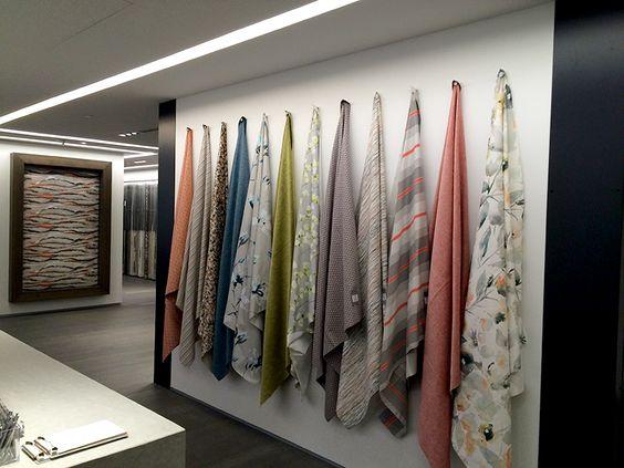 Romo Fabric's Washington, DC showroom