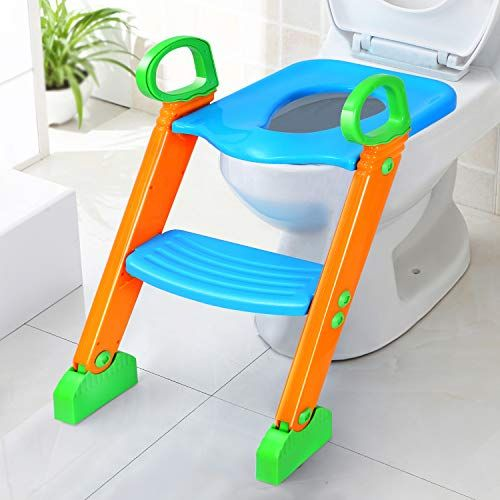 Potty Training Seat With Step Stool For Kids Gpct Toddler Toilet