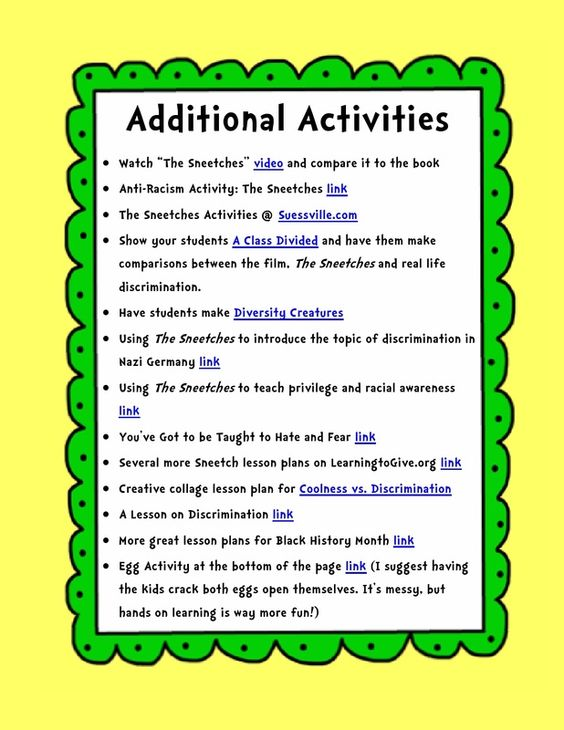 The sneetches segregation a dr seuss inspired lesson for black the sneetches segregation a dr seuss inspired lesson for black history month escuela sciox Choice Image