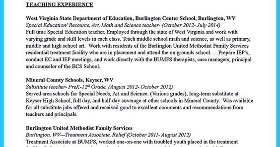 Creative and Extraordinary Art Teacher Resume for Any Level - art teacher resumes