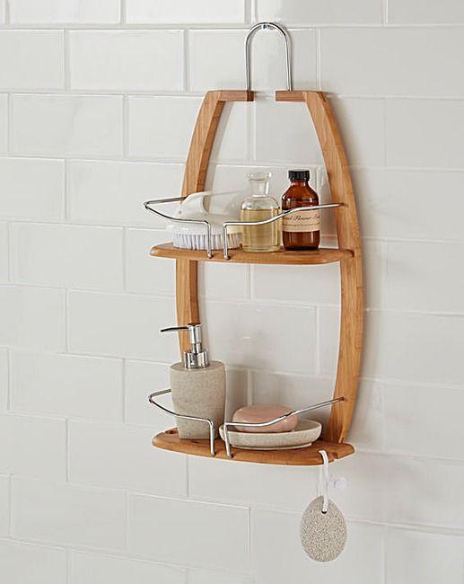 Bamboo Shower Caddy   Home Essentials