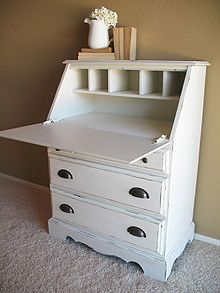 A way to add some function and storage to a guest room.... I like!