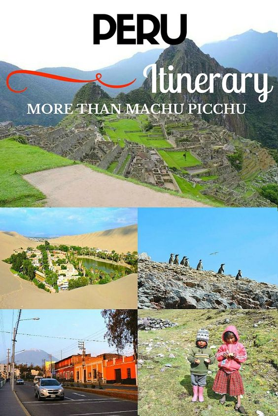 The ultimate guide to Peru - hiking, sandboarding, lagoons, pisco, and of course, Machu Picchu! Video included.