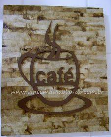 Pinto mas não bordo: PAP da tela café