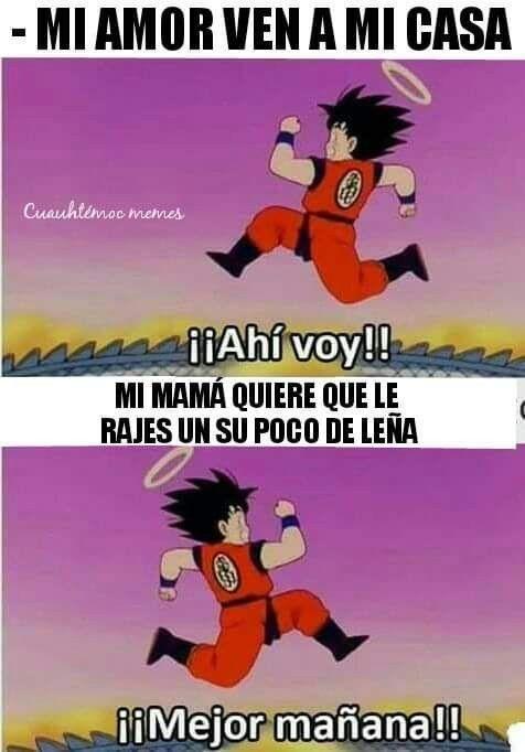 Pin By Estefano On Imagenes Divertidas Memes Goku Meme Humor