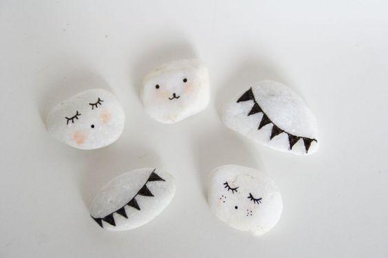DIY : Les petits visages ! - Merci Ginette