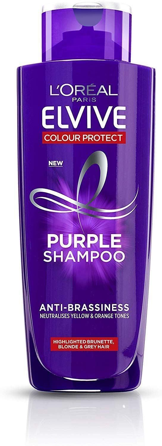 Shoppers Praise L Oreal Purple Shampoo As The Best Ever For Banishing Brassiness And It S Now Just Purple Shampoo Best Purple Shampoo Purple Shampoo Toner