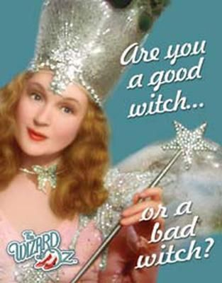 If you didn't just read this sounding like Glenda the Good Witch, something is entirely wrong with you!