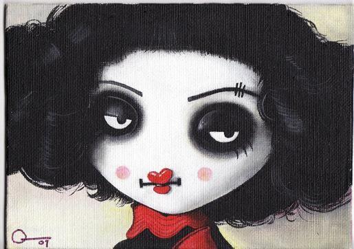 sweet lyllionia face by Posiez
