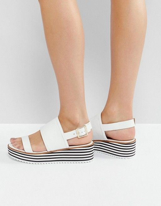 Lovely Things No.13 - Aldo Jin White Flatforms