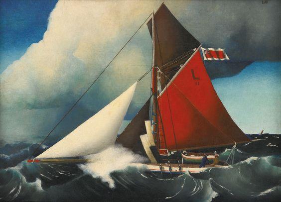 feininger, t. lux die lotsenkutter | maritime | sotheby's n09484lot8t2f4en: