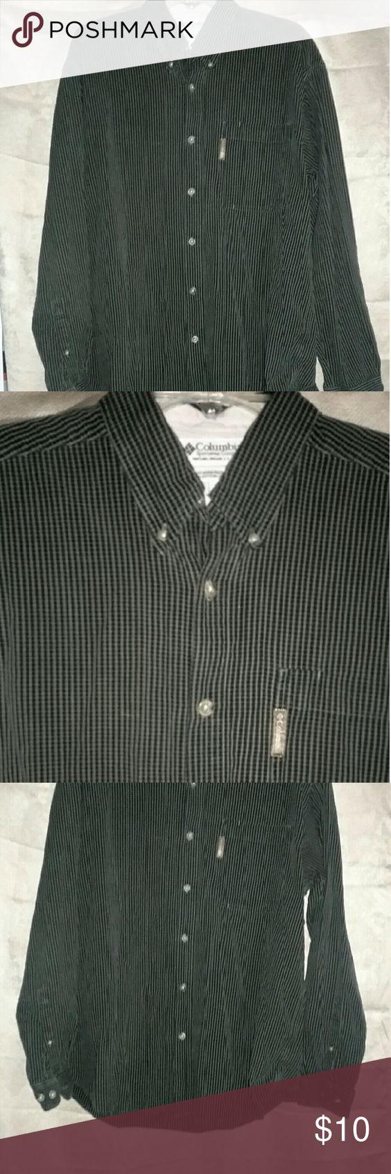 Columbia Sportswear Company Men's Shirt 100% cotton  great condition Columbia Shirts Dress Shirts