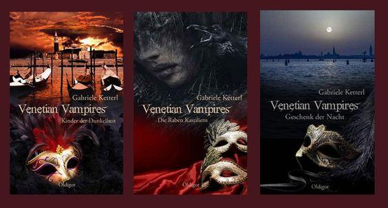 """Unsere Autorin Gabriele Ketterl freut sich: Es ist soweit!! """"Die Raben Kastiliens"""" sind aus dem Lektorat zurück! Dann kann es weiter gehen mit der #Vampir-Saga VENETIAN VAMPIRES...."""