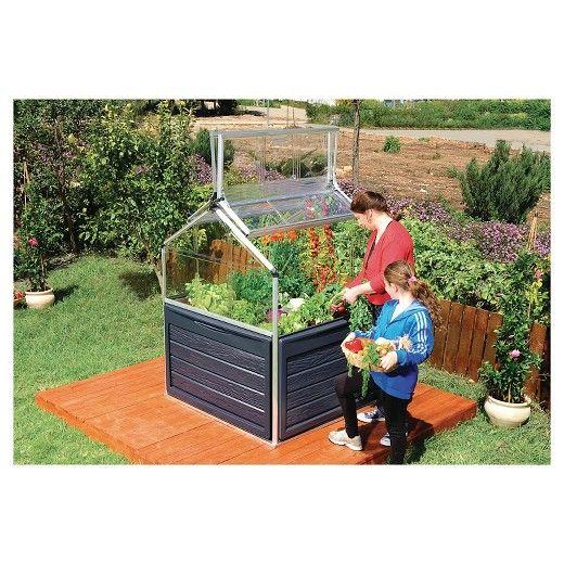 Plant Inn Greenhouse Silver Black Palram Greenhouse Aquaponics Aquaponics System
