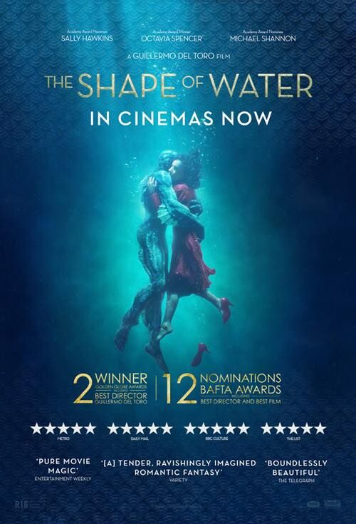 Pin By Ray Chan On Film Posters And Lists The Shape Of Water Academy Award Winning Movies In Cinemas Now