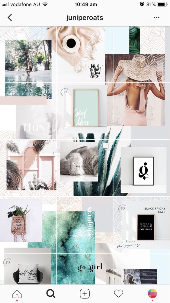 Feeds That Split Instagram Photos Into Grids How To Inspiration