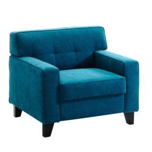 fauteuil tissu bleu p trole bleu p trole pinterest salons. Black Bedroom Furniture Sets. Home Design Ideas