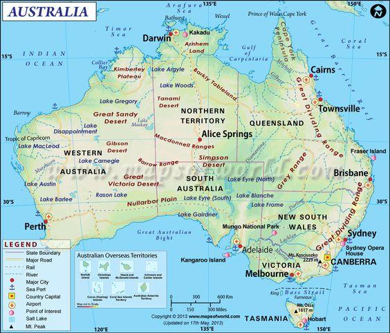 Australia Mapswhen somebody tells you they are scuba diving – Explore Australia Map