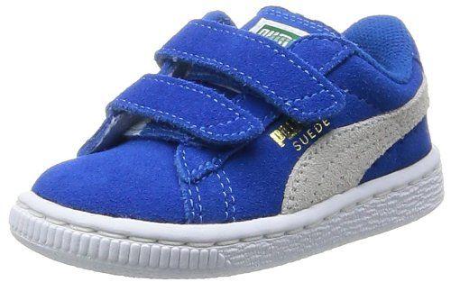 Puma Suede 2 straps Inf, Unisex-Kinder Sneakers, Blau (snorkel blue-white 02), 30 EU (11.5 Kinder UK) - http://uhr.haus/puma-6/30-eu-puma-suede-2-straps-inf-unisex-kinder-schwarz-2