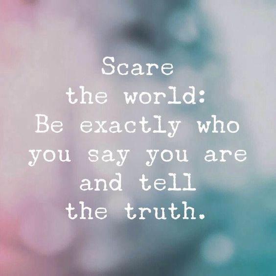 Scare the world