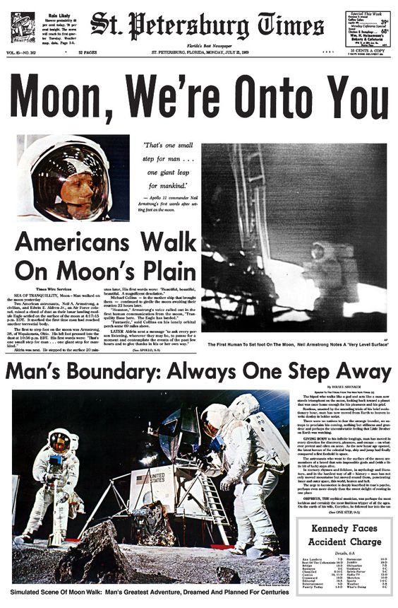 moon landing article - photo #12