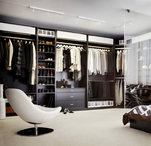 grand dressing chambre dressing pinterest placard. Black Bedroom Furniture Sets. Home Design Ideas