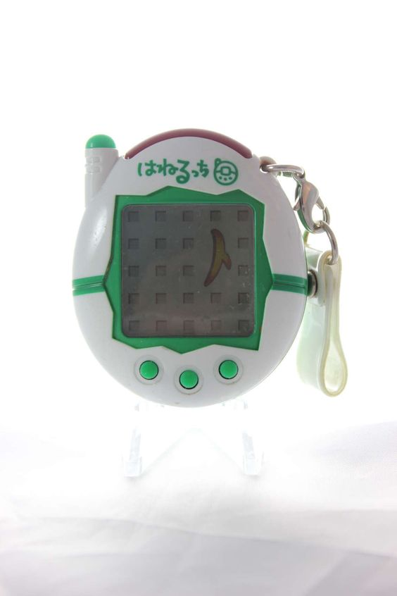 Tamagotchi (Bandai) Connection v3 blanc et vert - white and green