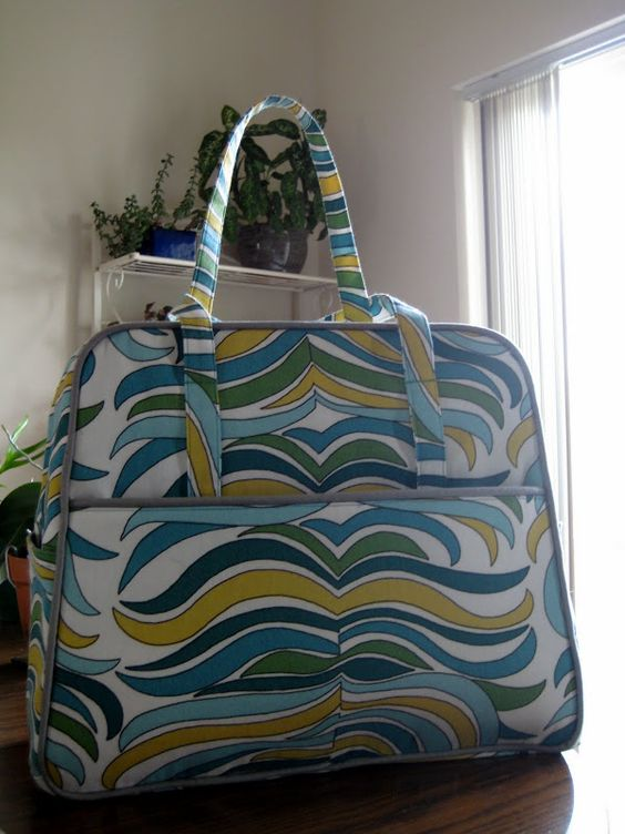 Amy Butler Knitting Bag Pattern : Crafts, Weekender and Bags on Pinterest