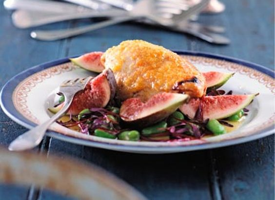 Fig and Chicken Salad