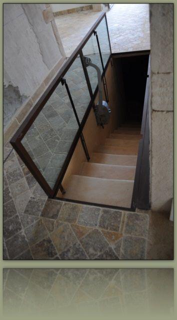 Trappe de cave en dalle de verre cave vin pinterest for La maison des sols