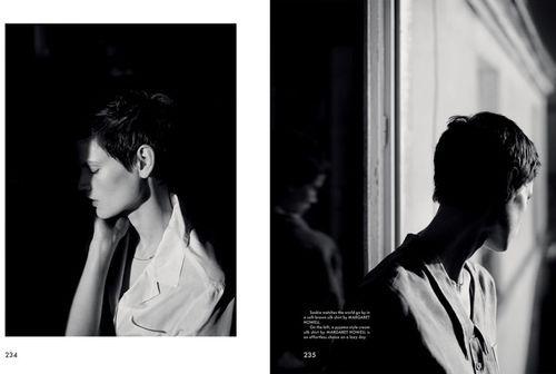 'Monday' Saskia de Brauw by Annemarieke van Drimmelen for The Gentlewoman No.9 SS 2014 [Editorial] - Fashion Copious