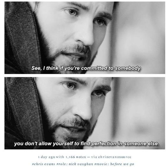 Chris Evans Before We Go