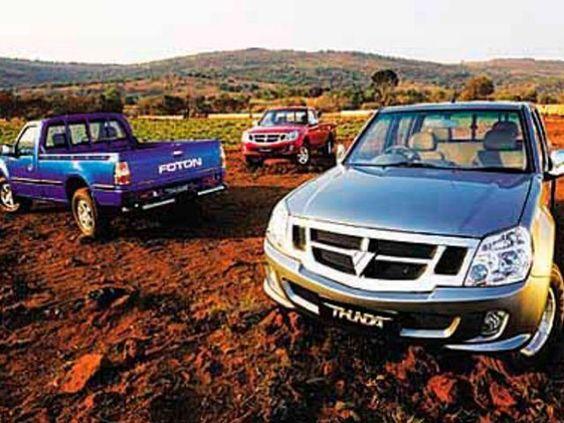 McCarthy Call-A-Car: New FOTON Thunda 2.2i Base PU. www.callacar.co.za