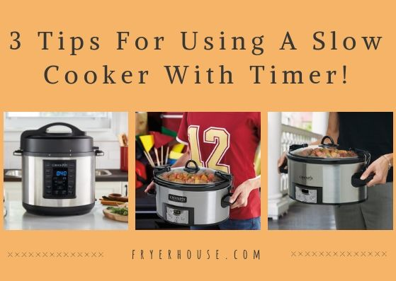 6 Best Slow Cookers With Timer 2021 Top Selling Best Slow Cooker Slow Cooker Slow Cookers