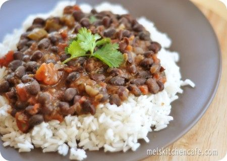 black beans and rice: