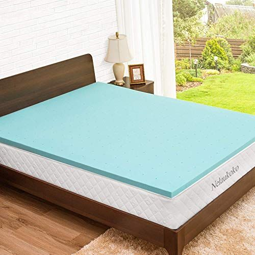 New Nelaukoko 2 Inch Twin Mattress Topper Memory Foam Mattress Pad