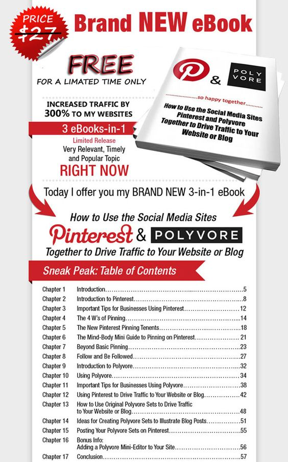 Free Pinterest ebook - How to Use Pinterest, Build a Targeted Following and Drive Traffic to Your Website or Blog  |  http://socialmonitoring.info/free-pinterest-ebook/