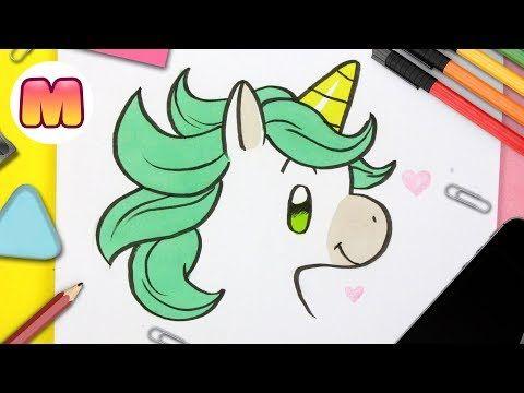Como Dibujar Un Unicornio Kawaii Youtube Como Dibujar Un Unicornio Aprender A Dibujar Dibujos De Unicornios