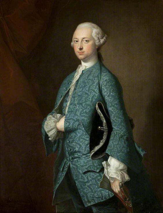 1755 Thomas Hudson - Sir Henry Oxenden, 6th Baronet of Deane: