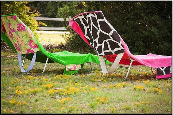 Pinterest the world s catalog of ideas for Beach towel chaise lounge cover