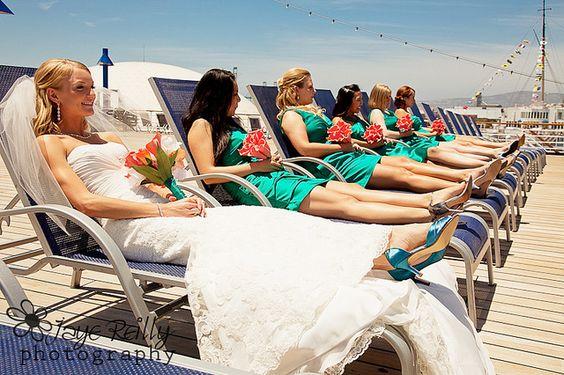 Cruise Ship Weddings Photo **** I love this pic!!